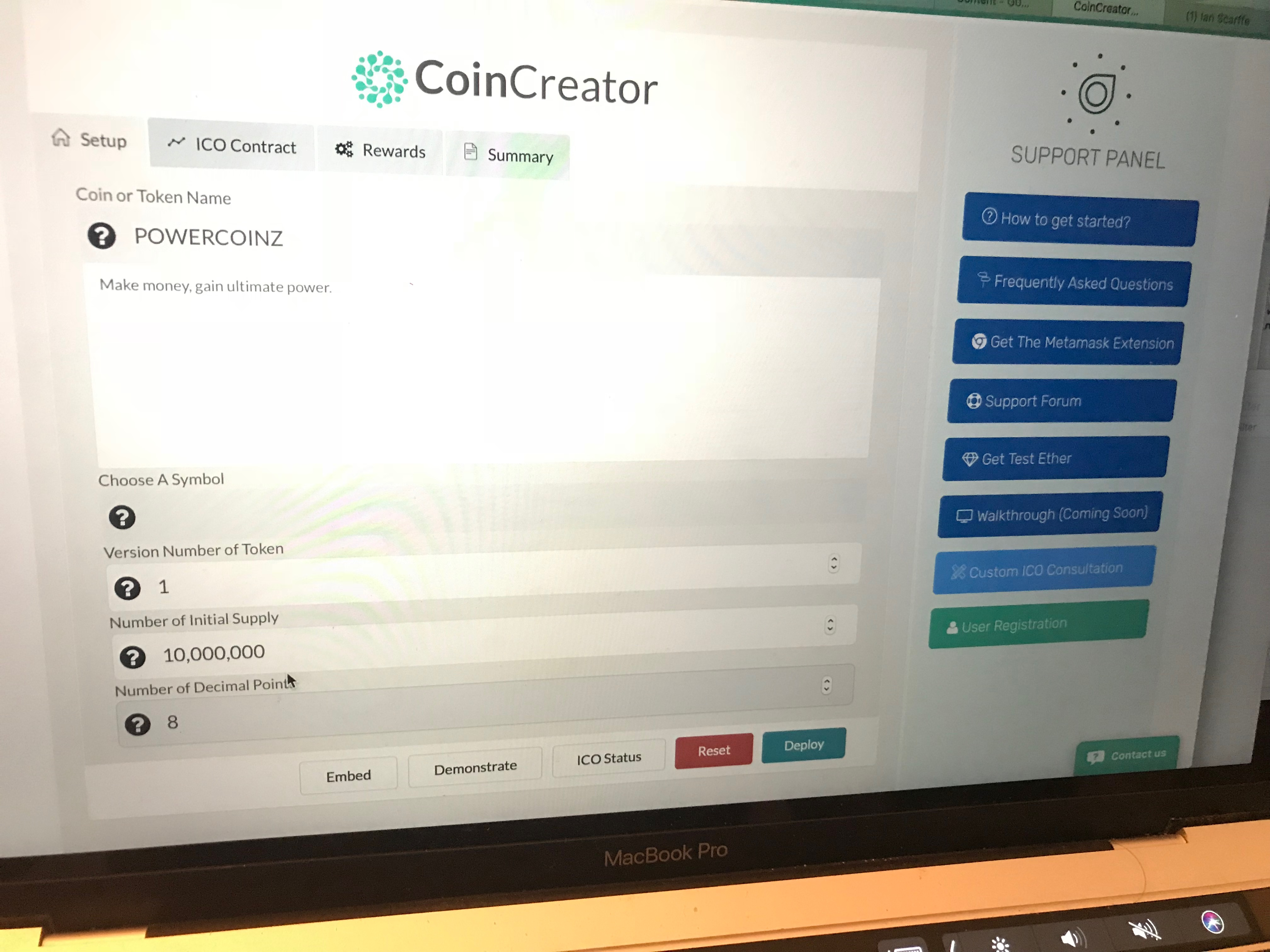 Build your own token sale with CoinLaunchs CoinCreator