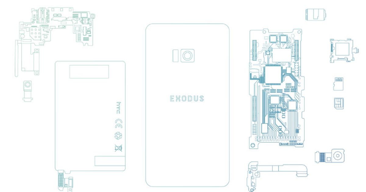 HTC's upcoming Exodus phone is all about the blockchain